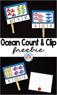 Ocean count and clip