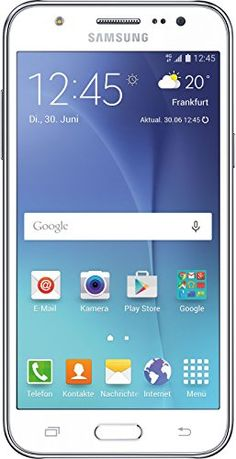 Samsung Galaxy J5 Smartphone (5 Zoll (12,7 cm) Touch-Display, 8 GB Speicher, Android 5.1) weiß | Your #1 Source for Mobile Phones, MP3 Players & Accessories