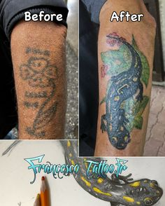 #francescotattoo.fr #tattoosalamandre #tatouagesalamandre #blackyellowtattoo #tatouagegrenoble #francescotattoo #tattooleaves #tatouagepeausombre #brownskintattoos #colortattoo #coveruptattoo #tatouagerecouvrement #coveruptattoo #flowertattoo #tatouagefleur #tatouagebras #armtattoo #avantbras #forarmtattoo #featuretattoo #customtattoo #tatouagepersonnalisé #créatatouage #tattooartist #tattoocreating #coverup #personnalisation #loveskin #blackink