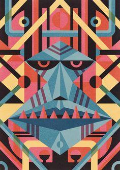 Animal Masks by Ben Newman