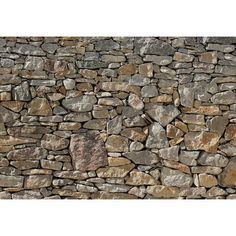 FREE SHIPPING! Shop Wayfair for Loon Peak Chicopee Stone Wall Mural - Great Deals on all Decor products with the best selection to choose from!