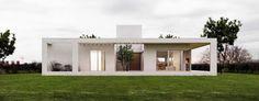 minimalistische Häuser von 1.61 Arquitectos