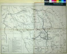 Antique Map on A-Z Craze