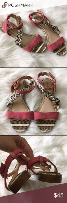 Pour la Victoire Snake skin textured Flat sandals EUC like new multi textured summer sandals size 7.5 Pour la Victoire Shoes Sandals