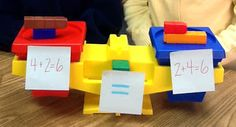 commutative property demonstrated on a balance scale--are my Cuisenaire rods precise enough for this?