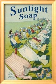 Sunlight Soap Advert a String of Women Admire the Results