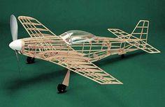 Beechcraft Bonanza #108 Herr Balsa Wood Model Airplane Kit Rubber Powered