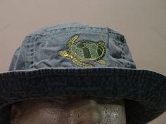 6ca6fdbd41b3d5 SEA TURTLE XL Bucket Hat - One Embroidered Women Men Wildlife Cap - Price  Apparel Embroidery - 10 Color Mom Dad Gift Marine Ocean Sea Caps