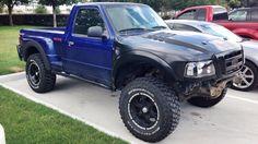 Ford Ranger prerunner - McQueen Raptor fenders and hood. Lifted Trucks, Ford Trucks, Pickup Trucks, Ford Ranger Prerunner, Trophy Truck, Ford Bronco, Cool Cars, Dream Cars, 4x4