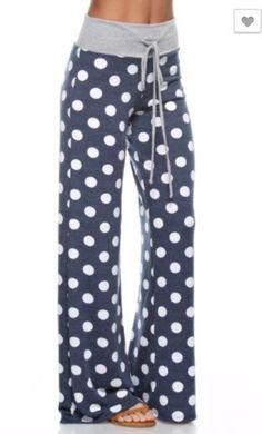 Polka Dot Lounge Pants – Boutique Amore`