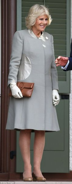 Duchess of Cornwall Camilla gets a VERY expensive makeover at Jo Hansford salon Camilla Duchess Of Cornwall, Duchess Of Cambridge, Princess Charlotte, Princess Diana, Camilla Parker Bowles, Prince Charles And Camilla, New Haircuts, Lady Diana, Queen Elizabeth Ii