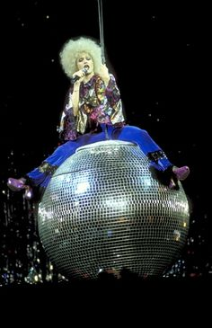 Disco Diva  Madonna performs at Madison Square Garden in New York on October 14th, 1993.
