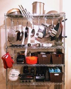 7 Organizing Accessories For the Wire Shelf In Your Kitchen
