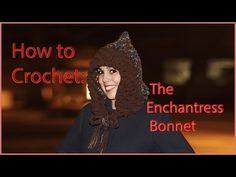 Crochet Tutorial: The Enchantress Bonnet | YARNutopia by Nadia Fuad