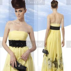 Vestito giallo e nero 30
