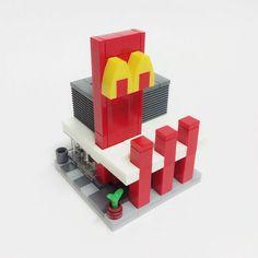 [MOC] McDonald's Mini Modular by DASI