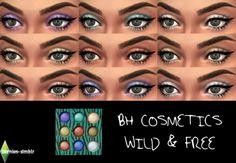 BH Cosmetics Wild & Free eyeshadow palette by BerniesSimblr.