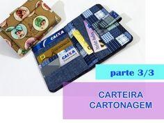 CARTEIRA EM CARTONAGEM - Passo a Passo 3/3