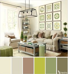 Creative Living Room Color Schemes [Paint Colors and Color Combination] Home Living Room, Living Room Color Schemes, Room Design, Living Room Furniture, Living Room Decor, Home Decor, Room Decor, Interior Design, Home And Living