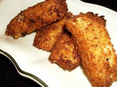I remember eating this when I lived in Prague! :) Smažený Sýr (Fried Cheese).FAVORITE food from the Czech Republic!