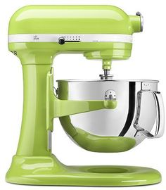KitchenAid Professional 600 Series 6-Qt. Stand Mixer Green Apple