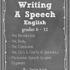 When your students need to write a speech, provide them with this very helpful resources. This package provides all the necessary teaching tools to...
