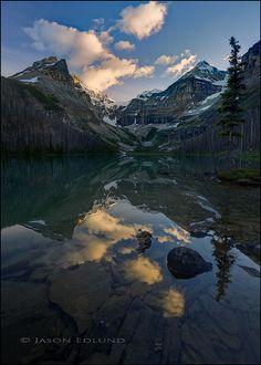 Kaufmann Lake by Jason Edlund, via 500px; Kootenay National Park, British Columbia