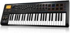 Behringer Motor49 49-key USB/MIDI Controller | Sweetwater.com