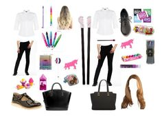 """""""Me and my bff School Look"""" by christina-cookie ❤ liked on Polyvore"""
