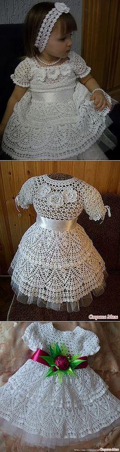 Платье Снежинка от p_tasha вяжут мастерицы онлайн. | Ирландское кружево | Постила
