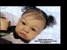 Ateliê Denise Reborn Boneca Bebê Reborn Dayane ou David Bi Racial