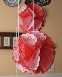 Addobbi con i centrini di carta sottotorta. Speciale Natale - www.Sottocoperta.net