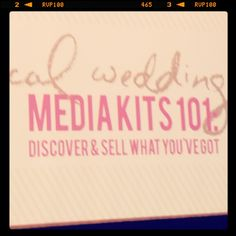 {Alt Summit Recap} Media Kits 101 by Meg Keene - post from Blogging It Forward