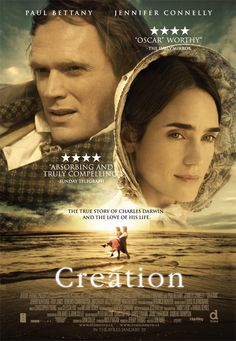 Creation Movie Poster ( of Period Drama Movies, Period Dramas, Jennifer Connelly, Paul Bettany, Love Movie, Movie Tv, Movies To Watch, Good Movies, Entertainment
