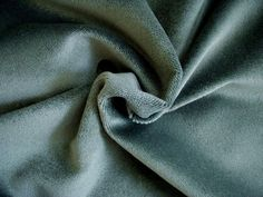 2 Yards Holly Hunt Great Plains Silk and Wool Mohair Upholstery Fabric Gray Blue