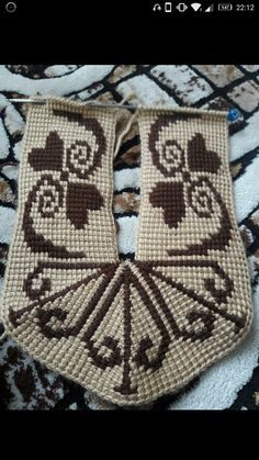 Best 12 Elena Herrera's media content and analytics – SkillOfKing. Knitting Charts, Knitting Socks, Free Knitting, Tunisian Crochet Stitches, Crochet Ripple, Crochet Home, Knit Crochet, Diy Earrings Supplies, Cross Stitch Alphabet