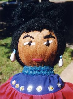 Seminole Doll - The Seminole Tribe of Florida.