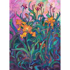 American Impressionism, Impressionist, Erin Hanson, Poetry Art, Large Painting, Art Inspo, Amazing Art, Oil On Canvas, Art Projects