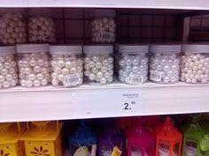 Perlas para adornar jarrón