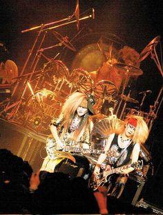 Taiji. hide. Yoshiki. X JAPAN.