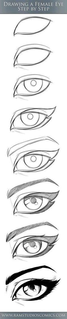 3 adımda GERÇEKÇİ göz çizimi. Artık resim çizmek daha kolay!