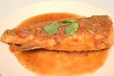 Fried Sea Bass With Spicy And Sour Tamarind Sauce Recipe