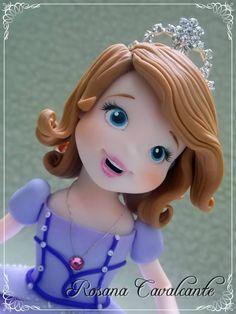 Princesa Sofia - Porcelana Fría - Biscuit