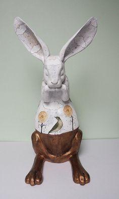 Rabbit Sculpture Alt