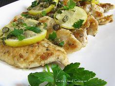 Tonight's dinner: Chicken piccata
