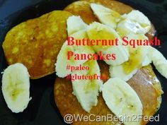 Butternut Squash Pancakes from @wecanbegin2feed