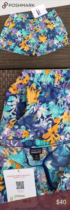 5c86b7e41c3d Patagonia Women s Baggies Shorts NWT New with tags Patagonia baggies  shorts. Neo tropics  channel