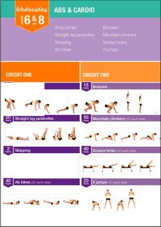Kayla Itsines' Bikini Body Guide Weeks 6 and 8