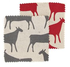 Fabric by the metre  Herds by skinnylaminx on Etsy, $65.00