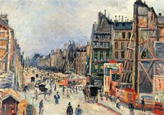 Maximilien Luce. The Opening Of The Rue Reaumur, 1896.